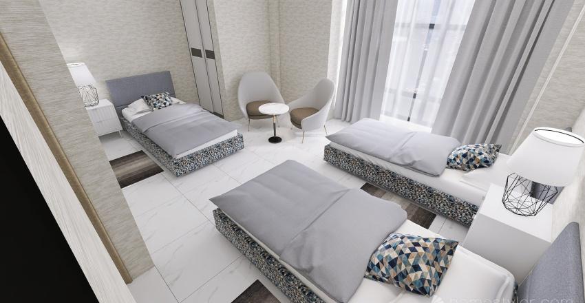 room hotel Interior Design Render