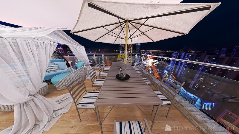 Searfoorce Suites Interior Design Render