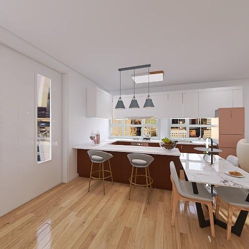 apartamento comteporanio Interior Design Render