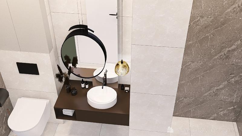 Зоологическая 12к1 раковина керам Interior Design Render
