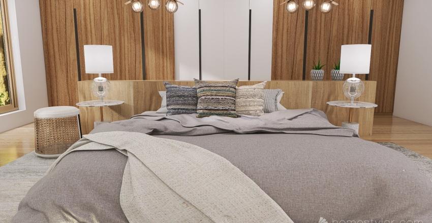 Weeping Villa House Interior Design Render