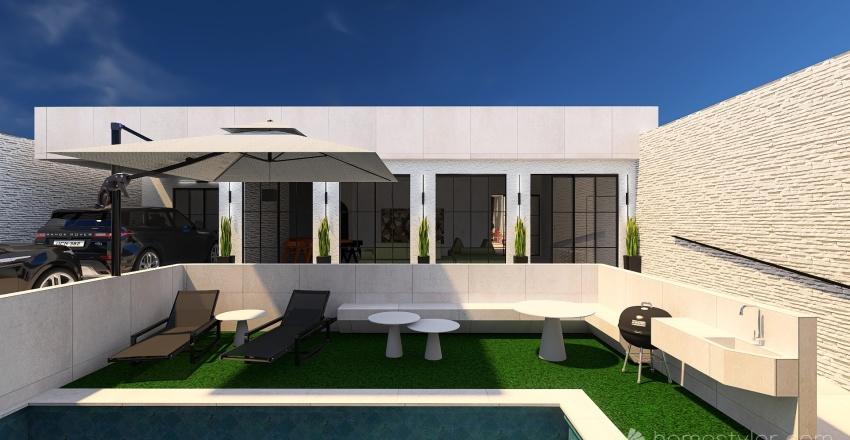 CASA DOS SONHOS M&K Interior Design Render