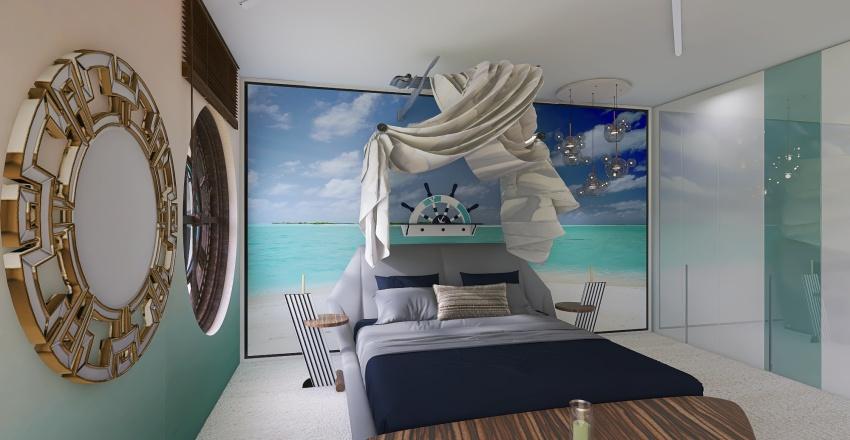 Beach Paradise Interior Design Render