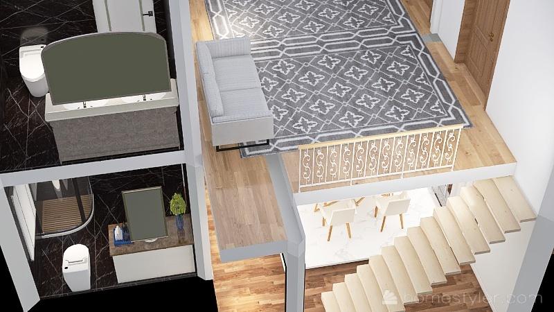 #1 Nature Inspired Condo Interior Design Render