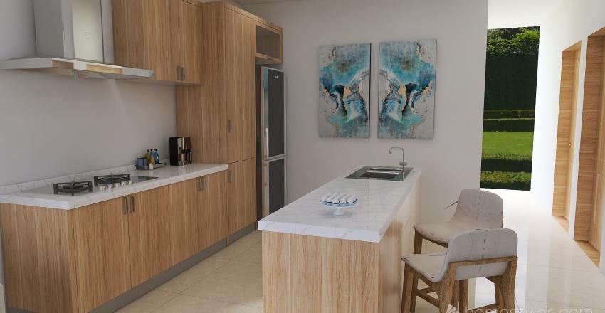 Casa rural Tucape Interior Design Render