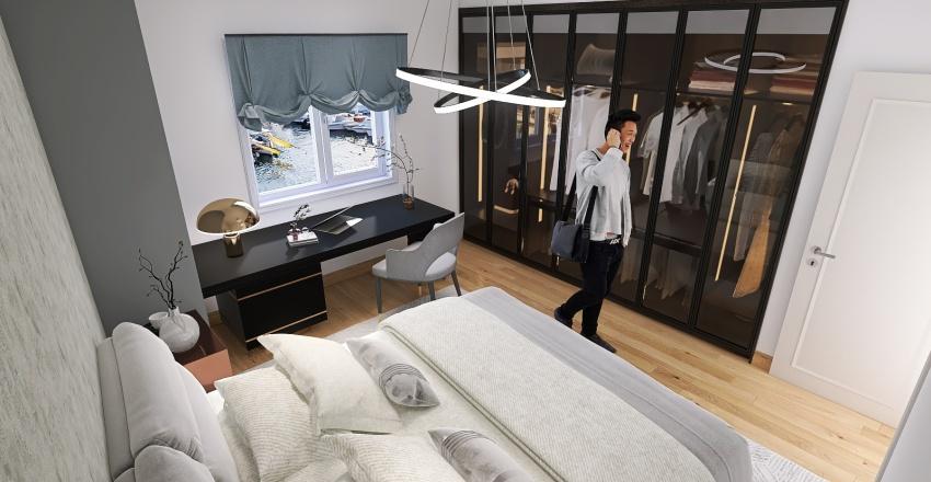 VIA BORGORATTI - STUDIO PALAZZO Interior Design Render