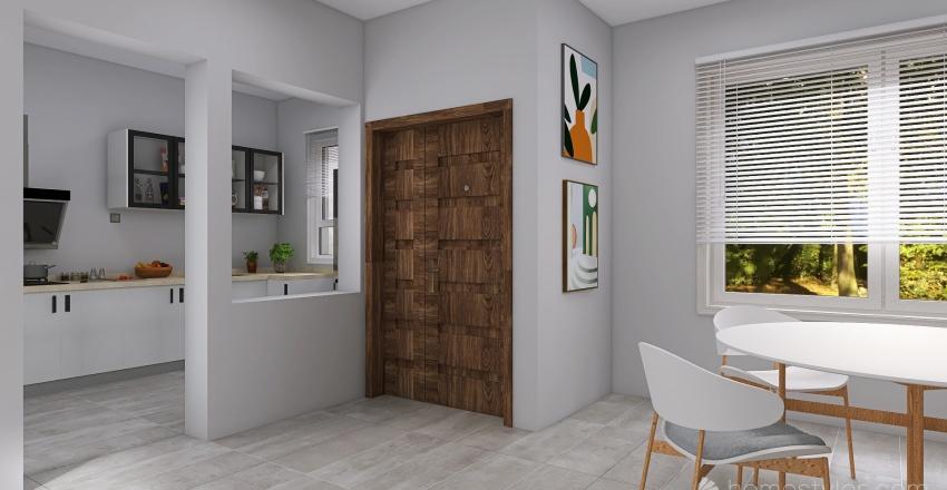 tipologia E  Interior Design Render