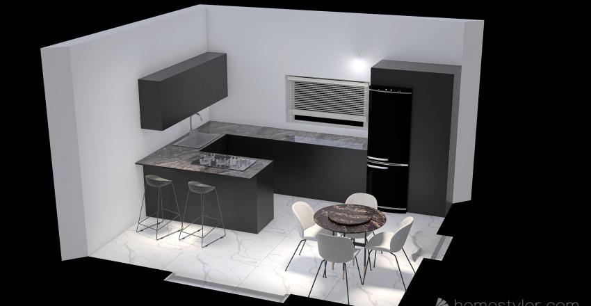 NICOLA soluzione 3 Interior Design Render