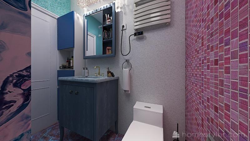 Мини квартира Interior Design Render