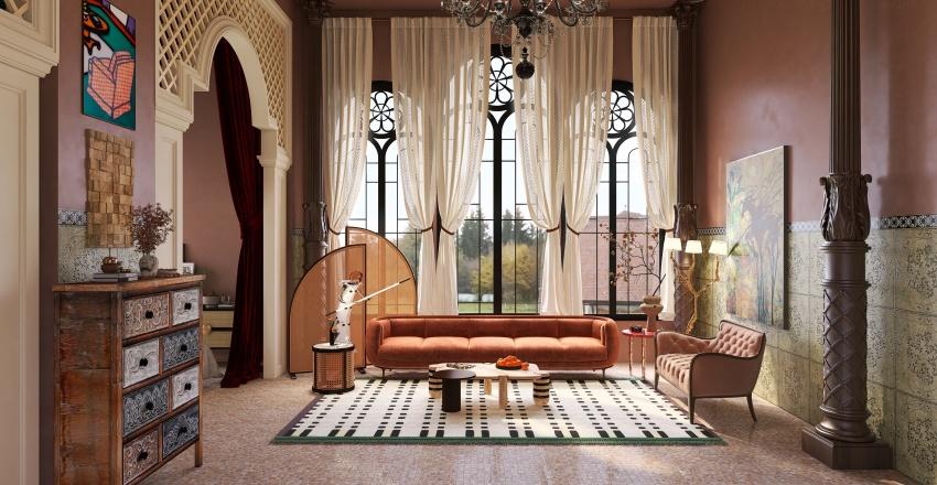 Midnight in Paris Model Collection Interior Design Render