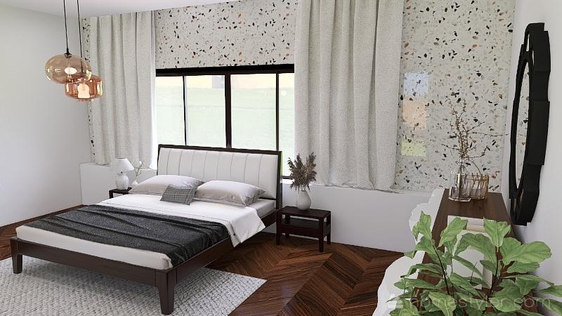 masrer bedroom plus Interior Design Render