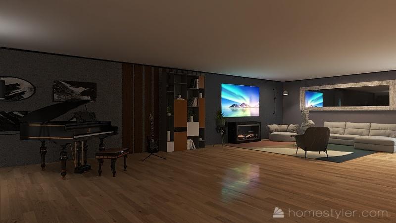 noc Interior Design Render