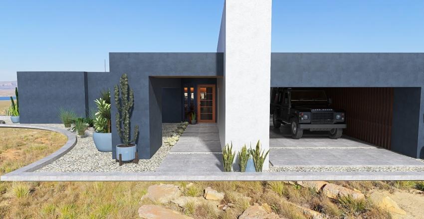 BlocKauss in the desert Interior Design Render