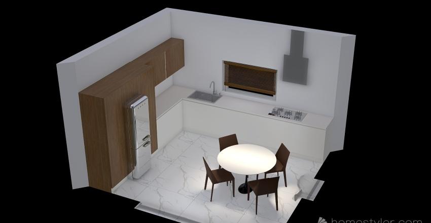 NICOLA soluzione 2 Interior Design Render