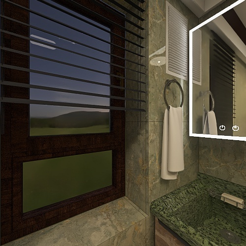 Ванная комната Interior Design Render
