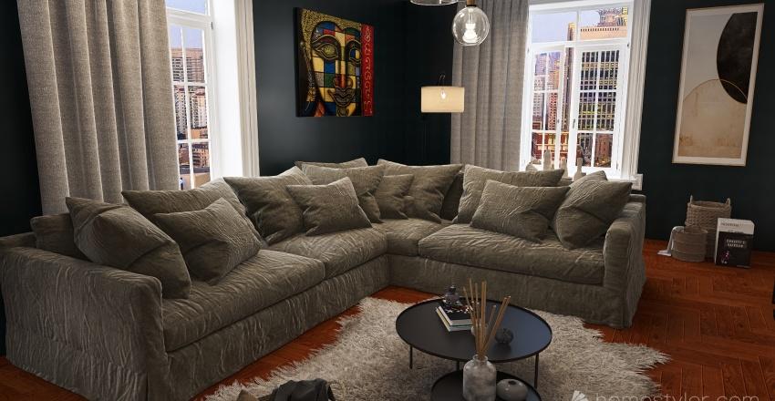 appartement Interior Design Render