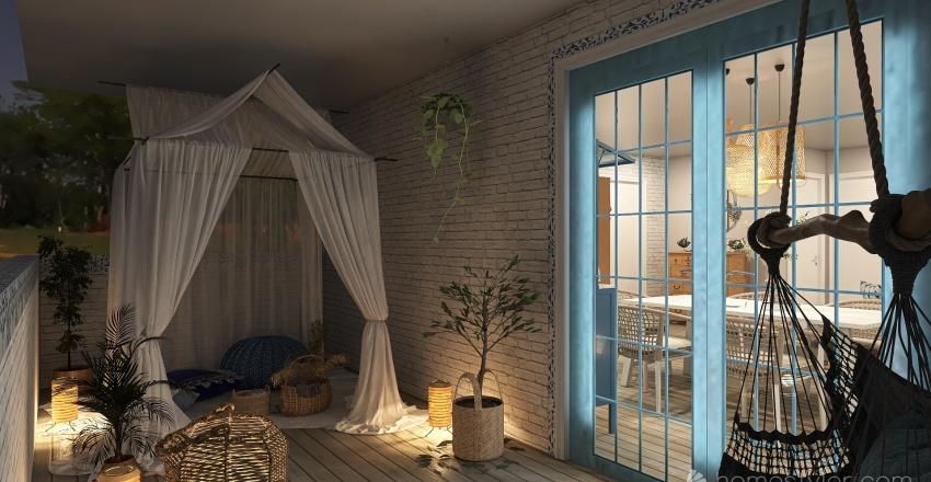 80 Sqm Interior Design Render
