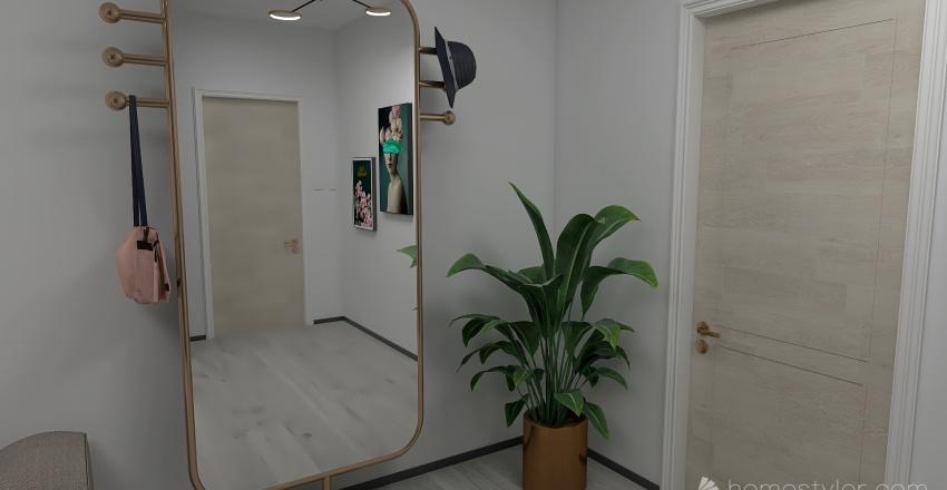 Flat 19 Interior Design Render