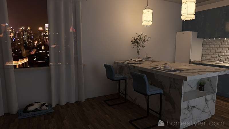 Alena's house Interior Design Render