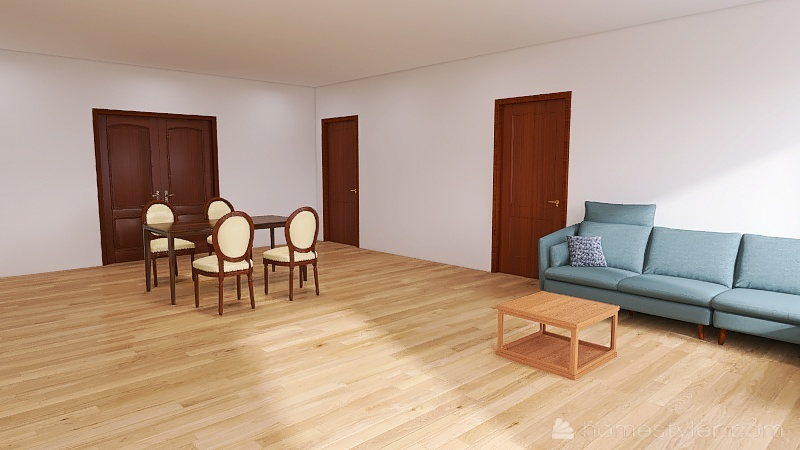 Casa modelo 01 Interior Design Render