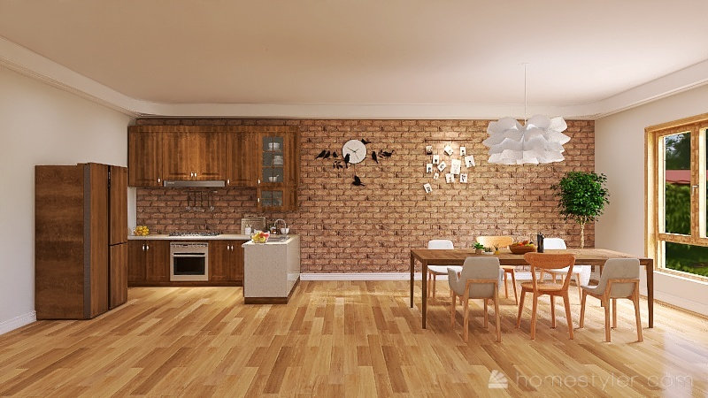DK  Interior Design Render