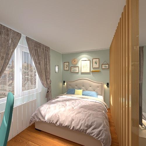 Моя комната Interior Design Render