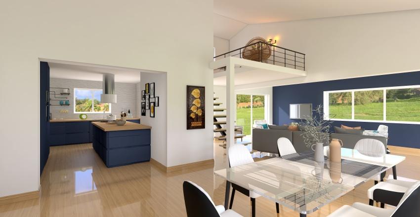MR MME DOUMAYROU Interior Design Render
