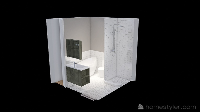 MA Washroom 1 Interior Design Render