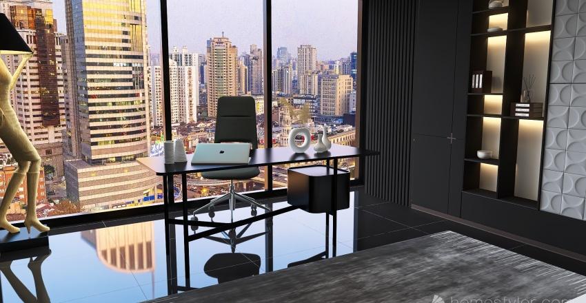 Apartamento en New York Interior Design Render
