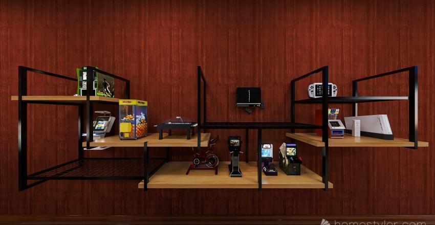 U2A4 Entertainment Bonus Room Smith, Nathan Interior Design Render