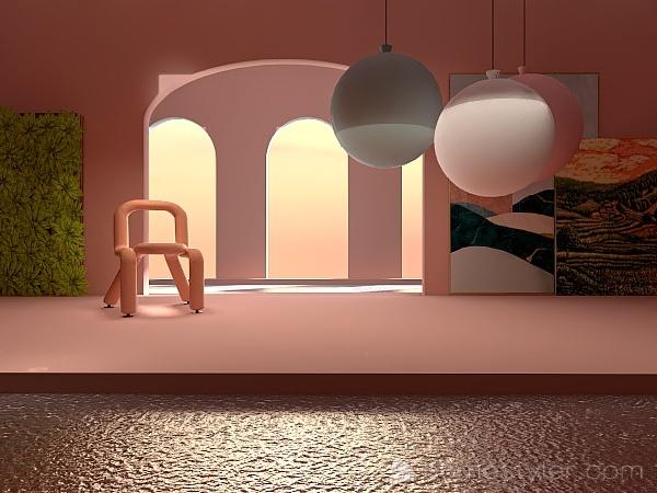 A drop of sun Interior Design Render
