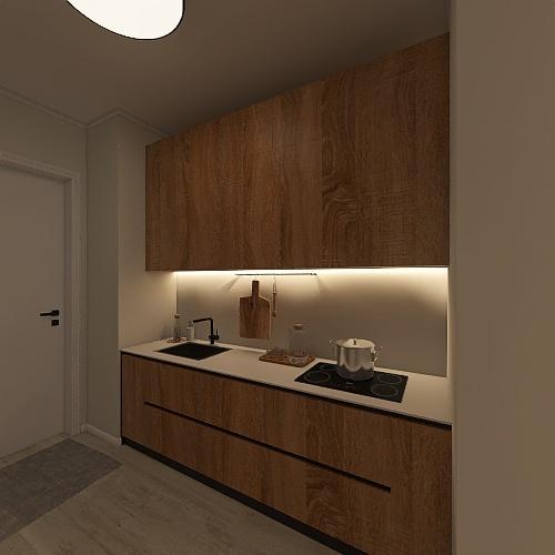 сашина общага Interior Design Render