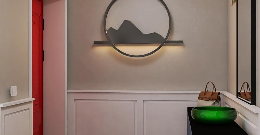 Hideaway Interior Design Render