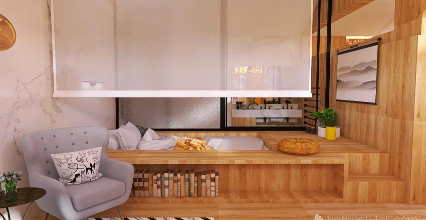 1 person Interior Design Render