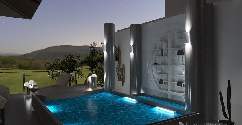 vacaciones Interior Design Render