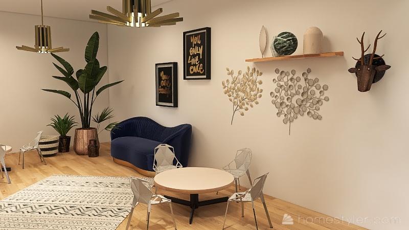 Classroom Of Creativity Interior Design Render