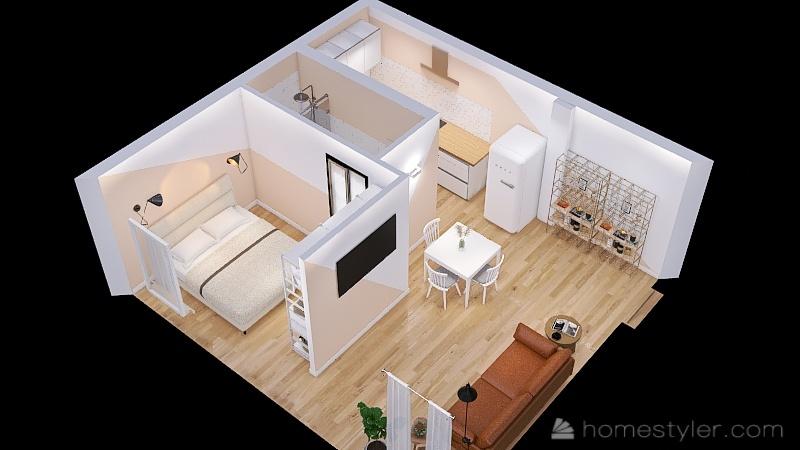 via Malcontenti 2 Interior Design Render