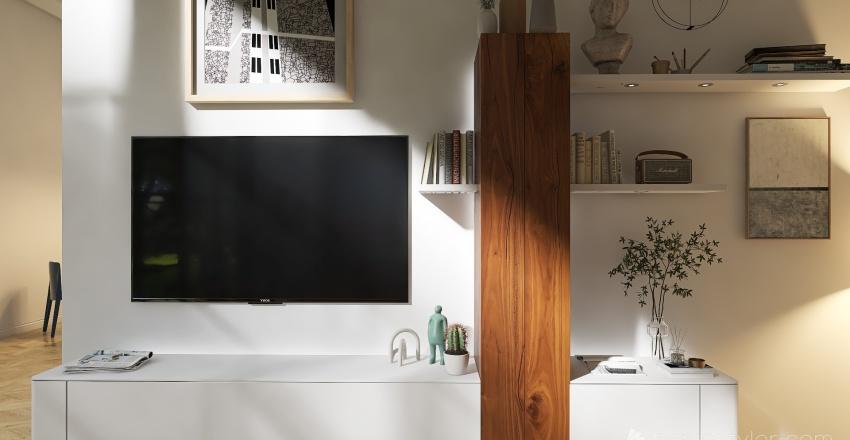 Place to live Interior Design Render