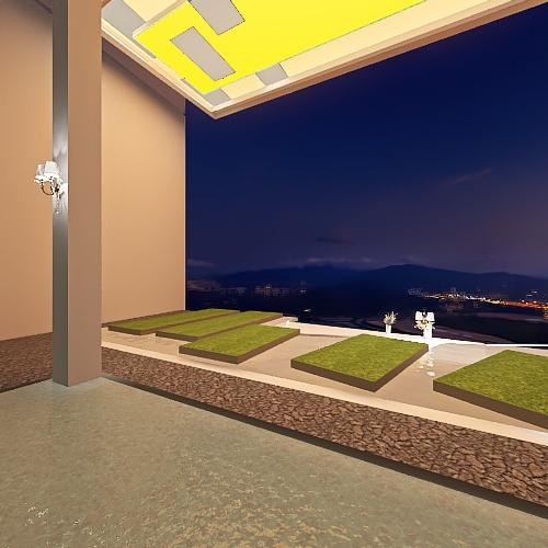 Vale De Whetu Interior Design Render