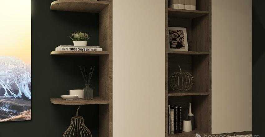 CASA GREEN BERG Interior Design Render