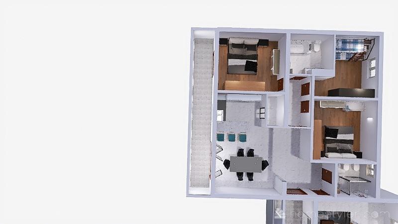 NAMJEŠTAJ 6-lis-21 Interior Design Render
