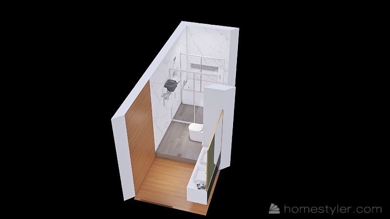 baño_v1 Interior Design Render