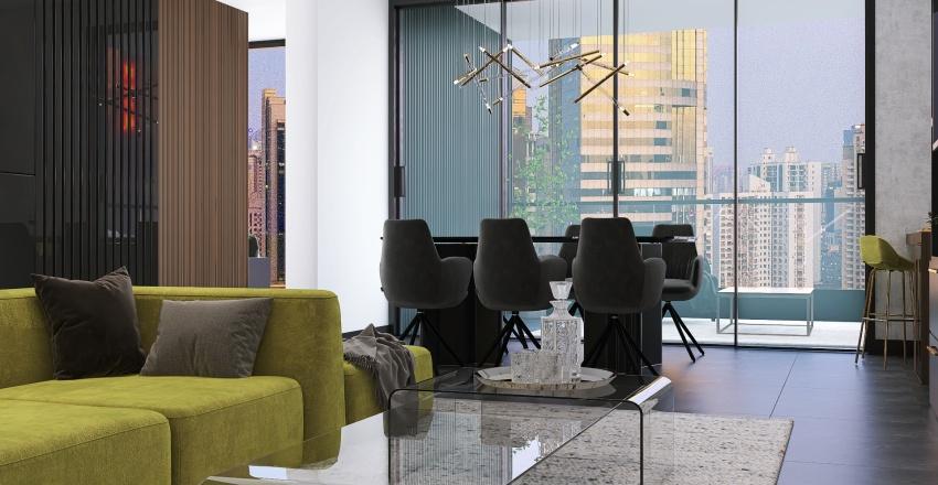 appartment la Interior Design Render