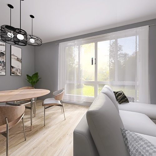 tipologia pocket Interior Design Render