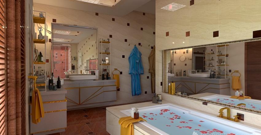 casa  personalizzata Interior Design Render