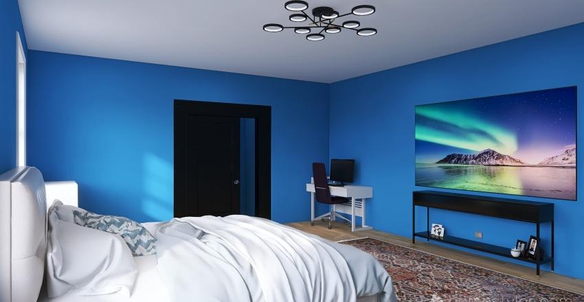 Amado's room Interior Design Render