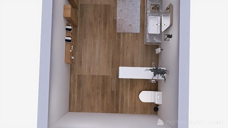 BañoPobletaAtico Interior Design Render