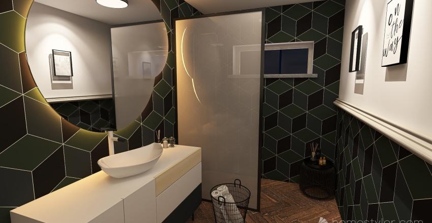 Green dream Interior Design Render