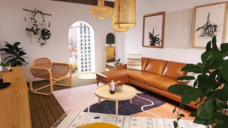 Kaci Bruha - Design 1 Interior Design Render