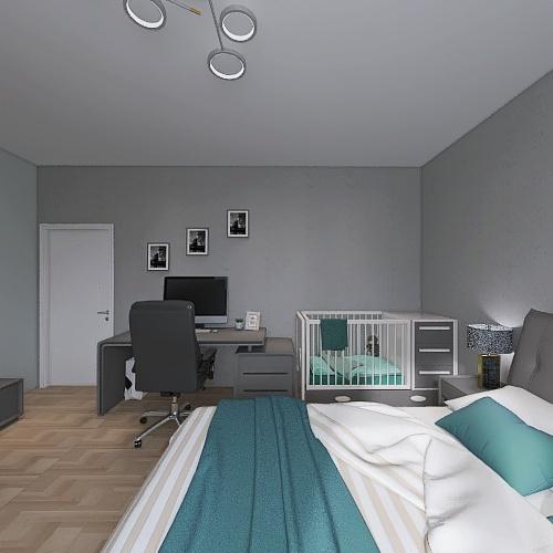 родительская Interior Design Render